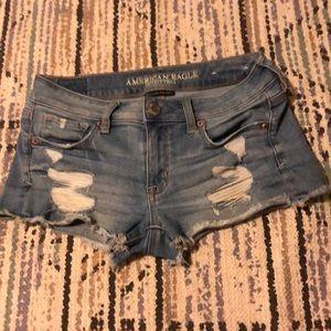 American Eagle Ripped Jean Shorts / Cutoffs